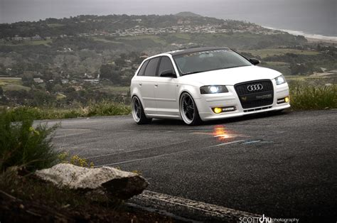 slammed audi wagon white audi wagon slammed audi favorites pinterest