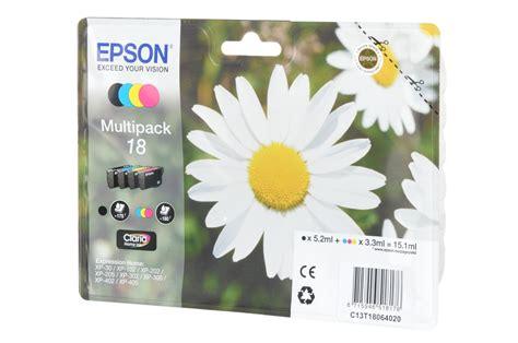 imprimante cuisine cartouche d 39 encre epson pack paquerette t1806 4cl 1353209