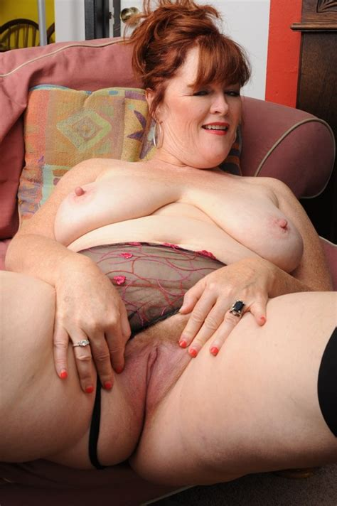 chubby 50 year old milf gets pounded in her fat ass