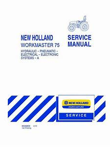Electrical Wiring Diagram Manual For New Holland Tractors