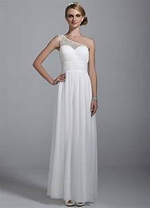 db studio illusion one shoulder all over beaded ruched With db studio wedding dresses