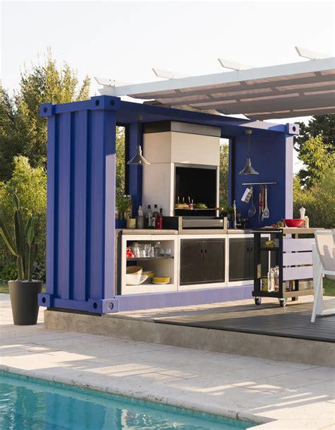 cuisine d exterieur cuisine extérieure 15 modèles pratiques et esthétiques décoration