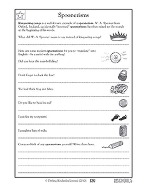 language arts worksheets   grade  worksheet