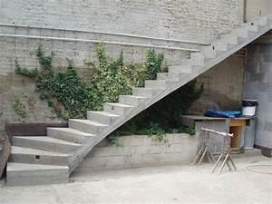 Betonové schody venkovní