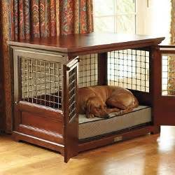 designer dog crates furniture foter With small dog crate furniture
