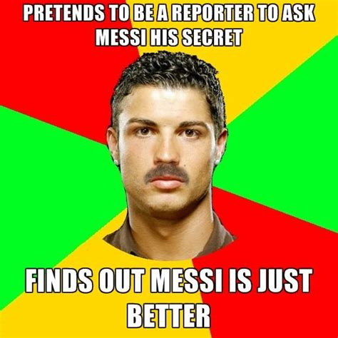 Meme Messi - lionel messi v cristiano ronaldo the best memes from the internet