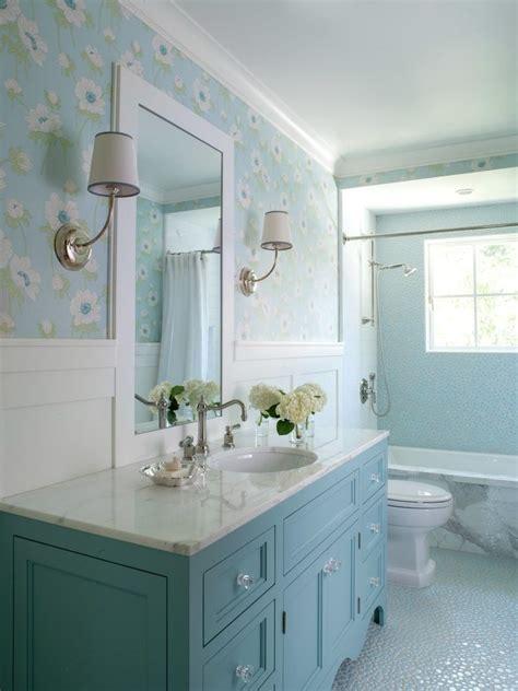 san francisco white pebble tile traditional bathroom blue
