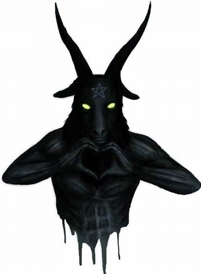 Demon Creepy Satan Baphomet Horror Terror Satanic