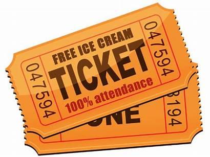 Raffle Ticket Clip Clipart Tickets Cartoon Reward
