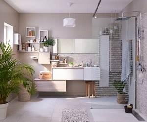 salles de bains styles et tendances leroy merlin With salle de bain avec douche a l italienne