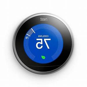 Nest Learning Thermostat 3rd Generation  Works With Google