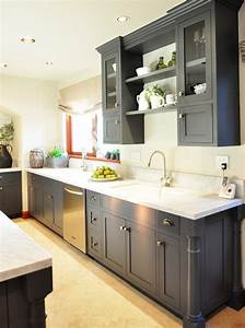 Gray Kitchen Cabinets With Green Walls – Quicua com