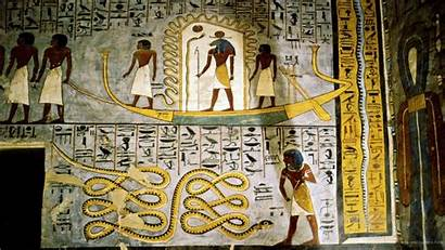 Egypt Ancient Egyptian Underworld Wallpapers Background Paintings