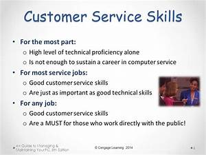 Chapter 9 part 1 satisfying customer needs ppt download for Customer service job skills