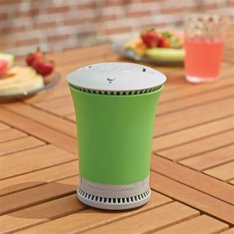 mosquito repeller the portable tabletop mosquito repeller hammacher schlemmer