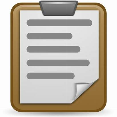 Clipboard Clipart Transparent Paste Icon Icone Openclipart