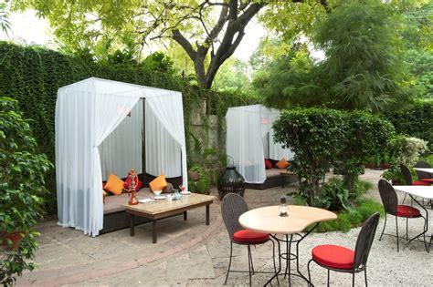 restaurant the garden most romantic restaurant in delhi couples india location