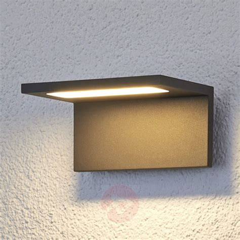 Applique A Led Da Parete by Acquista Applique Da Parete Caner Piatta A Led Esterni