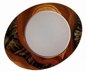 Grant-Noren Asymmetrical Oval Mirror