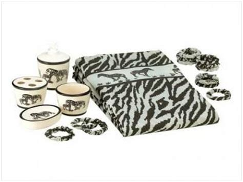 Leopard Print Bathroom Set Walmart by Zebra Print Bathroom Rug Set Bath Rug Shower Curtain