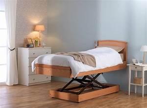 Lit Medicalise 120 : lit releveur eurodesign hms vilgo ~ Premium-room.com Idées de Décoration