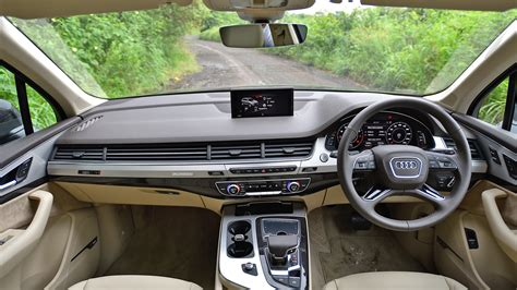 audi q7 interior audi q7 2017 40 tfsi premium plus interior car photos