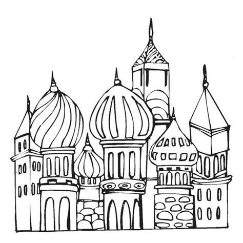 Moskee Kleurplaat by Kleurplaat Moskee Torens Eid Ul Fitr Suikerfeest