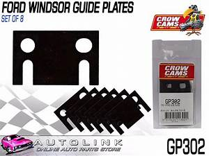 Crow Cams Push Rod Guide Plates 5  16 U0026quot  For Ford Windsor 221