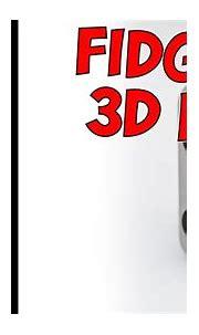 A 3D PRINTED DIY FIDGET CUBE! - YouTube