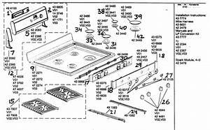 Maintop Asy Diagram  U0026 Parts List For Model Hgs255uc01