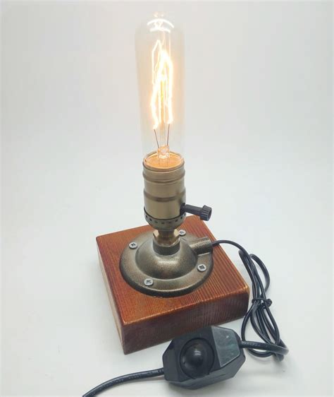 tabletop l dimmer switch industrial retro vintage edison table l knob dimmer