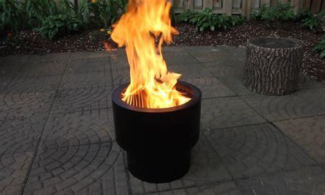 Tiki stainless steel low smoke fire pit. Flame Genie - Wood Pellet Smokeless Fire Pit