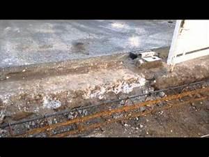 Comment Faire Une Dalle : comment faire une dalle b ton arm acc s garage youtube ~ Farleysfitness.com Idées de Décoration