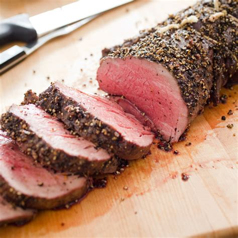 beef tenderloin roast pepper crusted beef tenderloin roast the cook s illustrated meat book