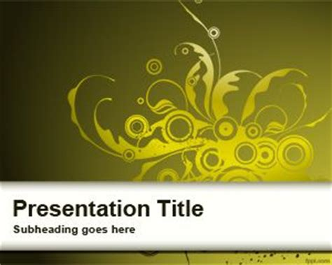 yellow powerpoint background