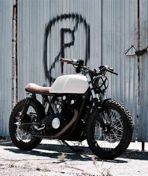 Suzuki Mcallen by Suzuki Gs450 Cafe Racer Tracker Cape Town South