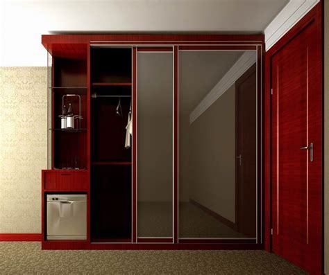Wooden Mirror Wardrobe by Furniture Charming Wooden Wardrobe Armoire With