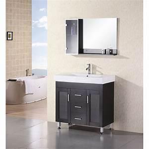 Design, Element, Milan, 36, U0026quot, Bathroom, Vanity, -, Espresso