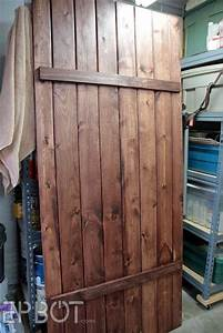 epbot make your own sliding barn door for cheap With build your own closet doors