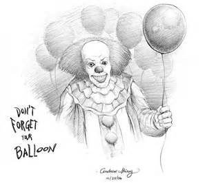 Pennywise Clown Drawing
