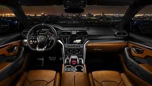 2018 Lamborghini Urus Off Road Interior 4K Wallpaper