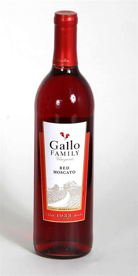 wine   week gallo family red moscato