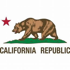 California Republic wall decal - kerstee