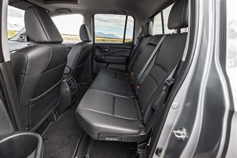 Honda Upholstery - 2017 honda ridgeline awd test the trucklet revised