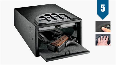 Nightstand Safe Biometric by Best Stand Gun Safe Review