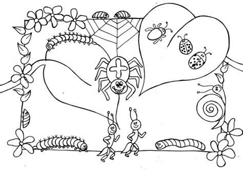 Kriebelbeestjes Kleurplaat by Kleurplaat Raket Pasen Kriebelbeestjes Maai