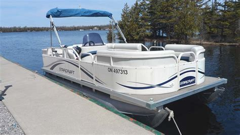 Pontoon Boats For Sale Eastern Ontario by 2007 Starcraft Classic 200 Pontoon Boat For Sale In The