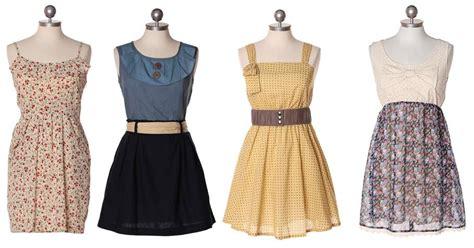 vintage kleider mode kleidung