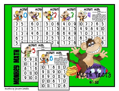 lorys  grade skills week  math facts  freebies