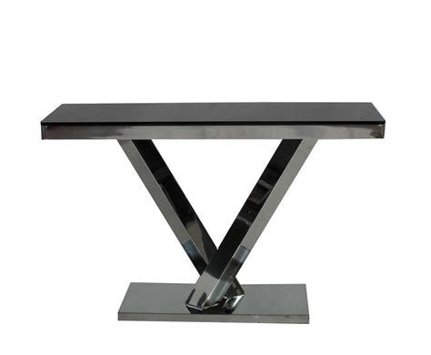 black glass console table ellen black glass console table